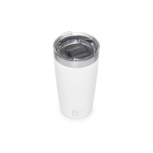 Rambler 10 Oz Tumbler With Magslider Lid - White