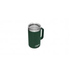 Rambler 24 Oz Mug With Standard Lid - Northwoods Green