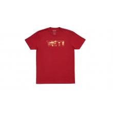 Brown Trout Short Sleeve T-Shirt - Cardinal - M