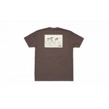 Duck Stamp Short Sleeve T-Shirt - Espresso - L by YETI
