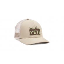 Mid-Pro Treeline Trucker Hat - Cream