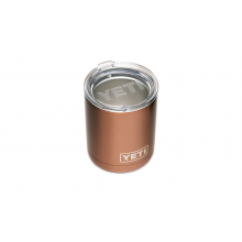 Rambler 10 Oz Lowball With Standard Lid - Copper by YETI