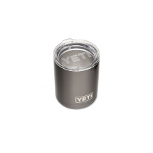 Rambler 10 Oz Lowball With Standard Lid - Graphite