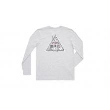 Ski Cabin Long Sleeve Shirt - Heather Gray - XXL