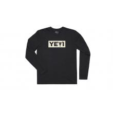Yeti Steer Long Sleeve Shirt - Black - XL