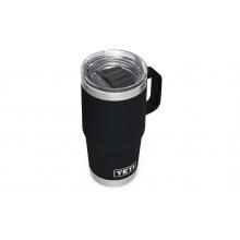 Rambler 20 Oz Travel Mug With Stronghold Lid - Black