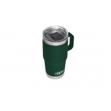 Rambler 20 Oz Travel Mug With Stronghold Lid - Northwoods Green