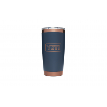 Folds Of Honor Rambler 20 Oz Tumbler With Magslider Lid - Copper / Navy