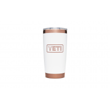 Folds Of Honor Rambler 20 Oz Tumbler With Magslider Lid - Copper / White by YETI