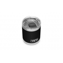 Rambler 10 oz Lowball with Magslider Lid - Black by YETI in Springfield IL