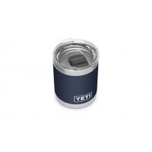 Rambler 10 oz Lowball with Magslider Lid - Navy by YETI in Englewood CO
