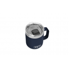 Rambler 10 oz Stackable Mug with Magslider Lid - Navy