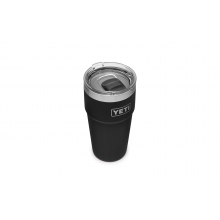 Rambler 473 ml Stackable Pint with Magslider Lid - Black