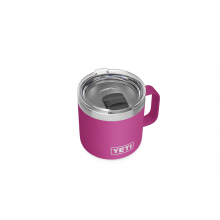 Rambler 14 oz Mug with Magslider Lid - Prickly Pear Pink