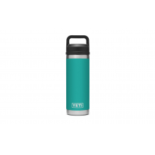 Rambler 18 oz Bottle with Chug Cap - Aquifer Blue