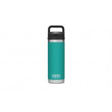 Rambler 18 oz Bottle with Chug Cap - Aquifer Blue by YETI