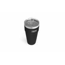 Rambler 26 oz Stackable Cup with Straw Lid - Black