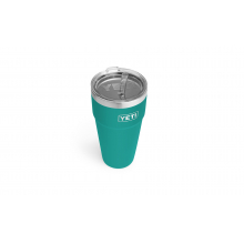 Rambler 26 oz Stackable Cup with Straw Lid - Aquifer Blue