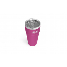 Rambler 769 ml Stackable Cup with Straw Lid - Prickly Pear Pink