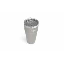 Rambler 26 oz Stackable Cup with Straw Lid - Granite Gray