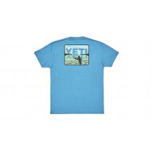 Spey Cast Short Sleeve T-Shirt - Teal - XXL by YETI in Littleton CO
