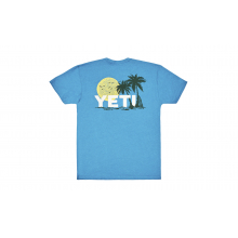 Surf Sunset Short Sleeve T-Shirt - Teal - S by YETI
