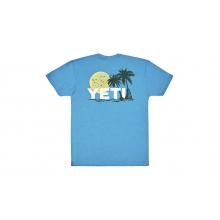 Surf Sunset Short Sleeve T-Shirt - Teal - L