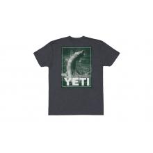 Tarpon Jump Short Sleeve T-Shirt - Charcoal - XL