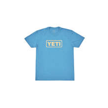 Kids Badge Logo Short Sleeve T-Shirt - Teal - S