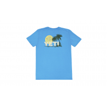 Women's Surf Sunset Short Sleeve T-Shirt - Turquoise - XS