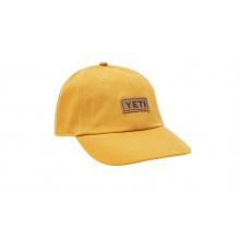 Badge Logo Leather Soft Crown Hat - King Crab Orange by YETI