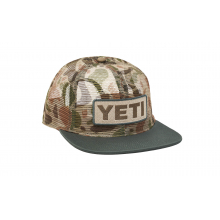 Camo Mesh 6 Panel Hat - Green by YETI