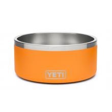 Boomer 8 Dog Bowl - King Crab Orange by YETI in Golden CO