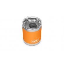 Rambler 10 oz Lowball with Magslider Lid - King Crab Orange