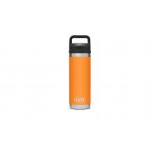 Rambler 18 oz Bottle with Chug Cap - King Crab Orange by YETI