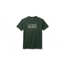 Flag Logo Badge Short Sleeve T-Shirt - Olive - M by YETI in Littleton CO