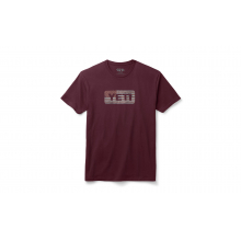 Flag Logo Badge Short Sleeve T-Shirt - Red - 3XL by YETI