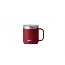 Rambler 10 oz Stackable Mug with Magslider Lid - Harvest Red