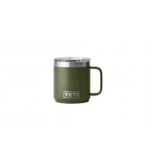 Rambler 10 oz Stackable Mug with Magslider Lid - Highlands Olive by YETI in St Joseph MI