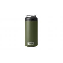 Rambler 12 oz Colster Slim Can Insulator - Highlands Olive by YETI in St Joseph MI