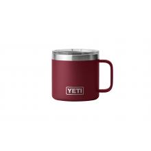 Rambler 14 oz Mug with Magslider Lid - Harvest Red by YETI in Denver CO