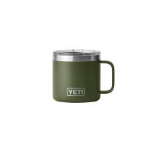 Rambler 14 oz Mug with Magslider Lid - Highlands Olive by YETI in St Joseph MI