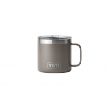 Rambler 14 oz Mug with Magslider Lid - Sharptail Taupe