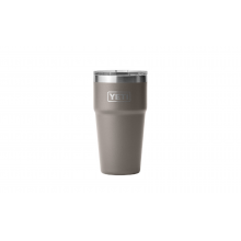 Rambler 473 ml Stackable Pint with Magslider Lid - Sharptail Taupe