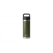 Rambler 18 oz Bottle with Chug Cap - Highlands Olive by YETI