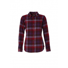 Women's Lieback Flannel L/S by Royal Robbins in Loveland CO