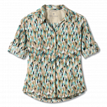 Women's Expedition Print 3/4 Sleeve by Royal Robbins in Chandler Az
