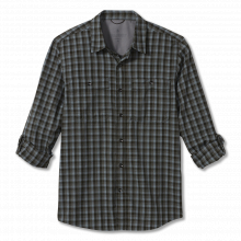 Men's Vista Dry Plaid L/S