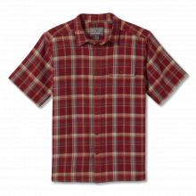 Men's Cool Mesh Eco Plaid S/S