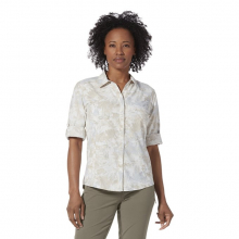 Women's Expedition Ii Print 3/4 Sleeve by Royal Robbins in Squamish BC